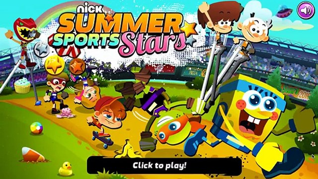 Nick Summer Sports Stars - New Pole Vaulting Sport At The Summer Games (Gameplay)
