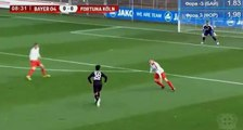 Marlon Frey Goal HD - Bayer Leverkusen (Ger) 1-0 Fortuna Koln (Ger) 05.10.2017