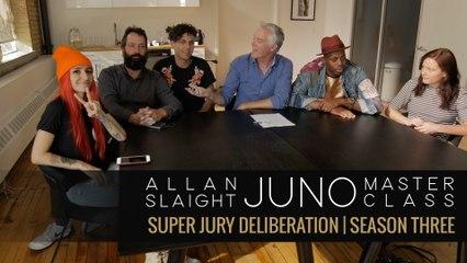 Super Jury Deliberation | Allan Slaight JUNO Master Class Season Three
