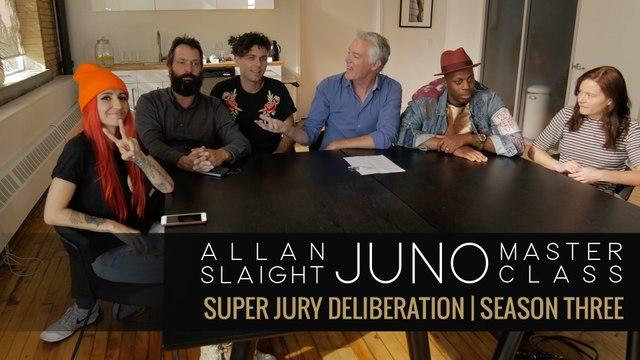 Super Jury Deliberation   Allan Slaight JUNO Master Class Season Three