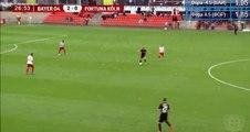 Cedric Mimbala Own goal HD - Bayer Leverkusen (Ger)3-0Fortuna Koln (Ger) 05.10.2017