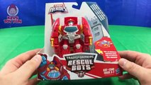 Transformers Rescue Bots Toys Hoist Heatwave Blades and Morbot Figures KevsToy Fun