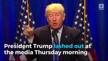 Trump tells Senate Intelligence Committee to look at 'fake news'