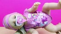 Muñeca Bebé Interiva Baby Born BANDAI en español   La bebé come papilla llora y hace pipí y popó