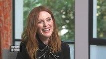 Pour Julianne Moore, faut surtout pas penser au nombre de personnes pouvant voir ses films - Kingsman : le cercle d'or - Interview cinéma