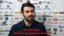 Hockey sur glace 2017-09-30 Interviews -  Commentaires à chaud après rencontre Clermont VS Limoges - D2