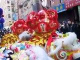 NYC Chinatown New York Chinese New Year Lion Dance Drumming new