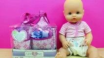 Cantidad limitada proporcionar una gran selección de calidad real Bolso cambiador para la muñeca bebé | La Bebé Nenuco se hace ...
