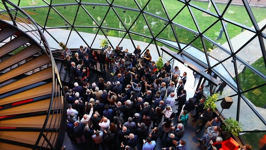 Inauguration du centre d'entrainement de l'OGC Nice