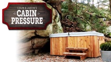 Outdoor Hot Tub - Cabin Pressure