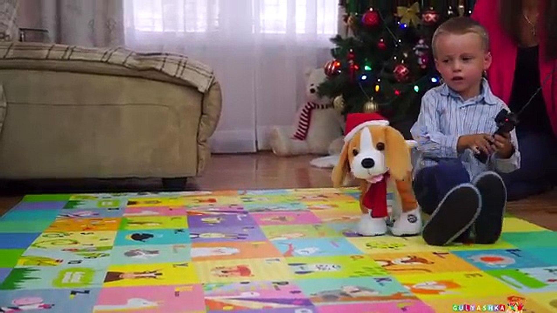 Распаковка Подарков и Игрушек на Американское Рождество kids VLOG entertainment