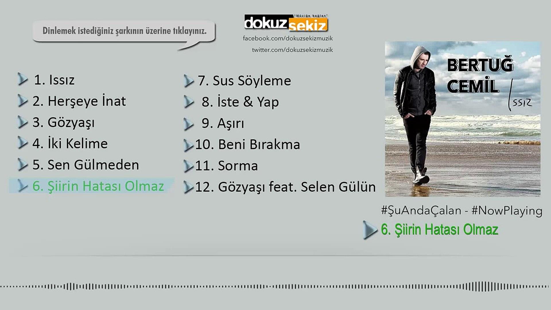 Bertuğ Cemil - Şiirin Hatası Olmaz (Official Audio)