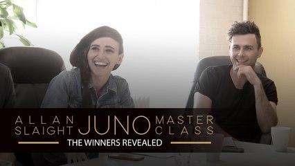The Winners Revealed   The Allan Slaight JUNO Master Class Season 2