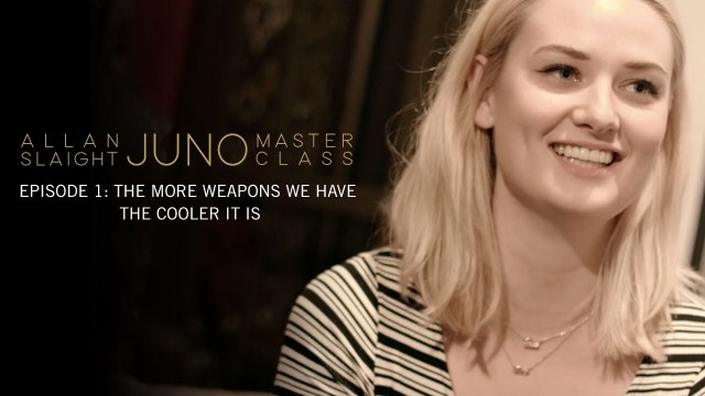 Episode 1: The More Weapons We Have The Cooler It Is | Allan Slaight JUNO Master Class Season Two
