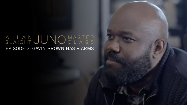 Episode 2: Gavin Brown Has 8 Arms | Allan Slaight JUNO Master Class Season Two