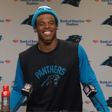 "Quarterback Cam Newton: ""It's funny to hear a female talk about routes"" [Mic Archives]"