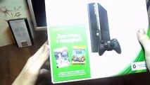 Xbox 360 E Распаковка!!! Xbox 360 E Unboxing!!!
