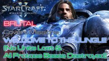 Starcraft II: Wings of Liberty - Brutal - Covert - Mission 14: Welcome to the Jungle C (No Lost)