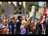 150 marchas en EU para que Trump revele declaraciones fiscales