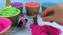 Smiley Face Ice Cream Kinetic Sand Surprise Cups Zootopia Finding Nemo Toys