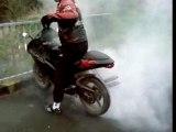 Burn é petage de pneu