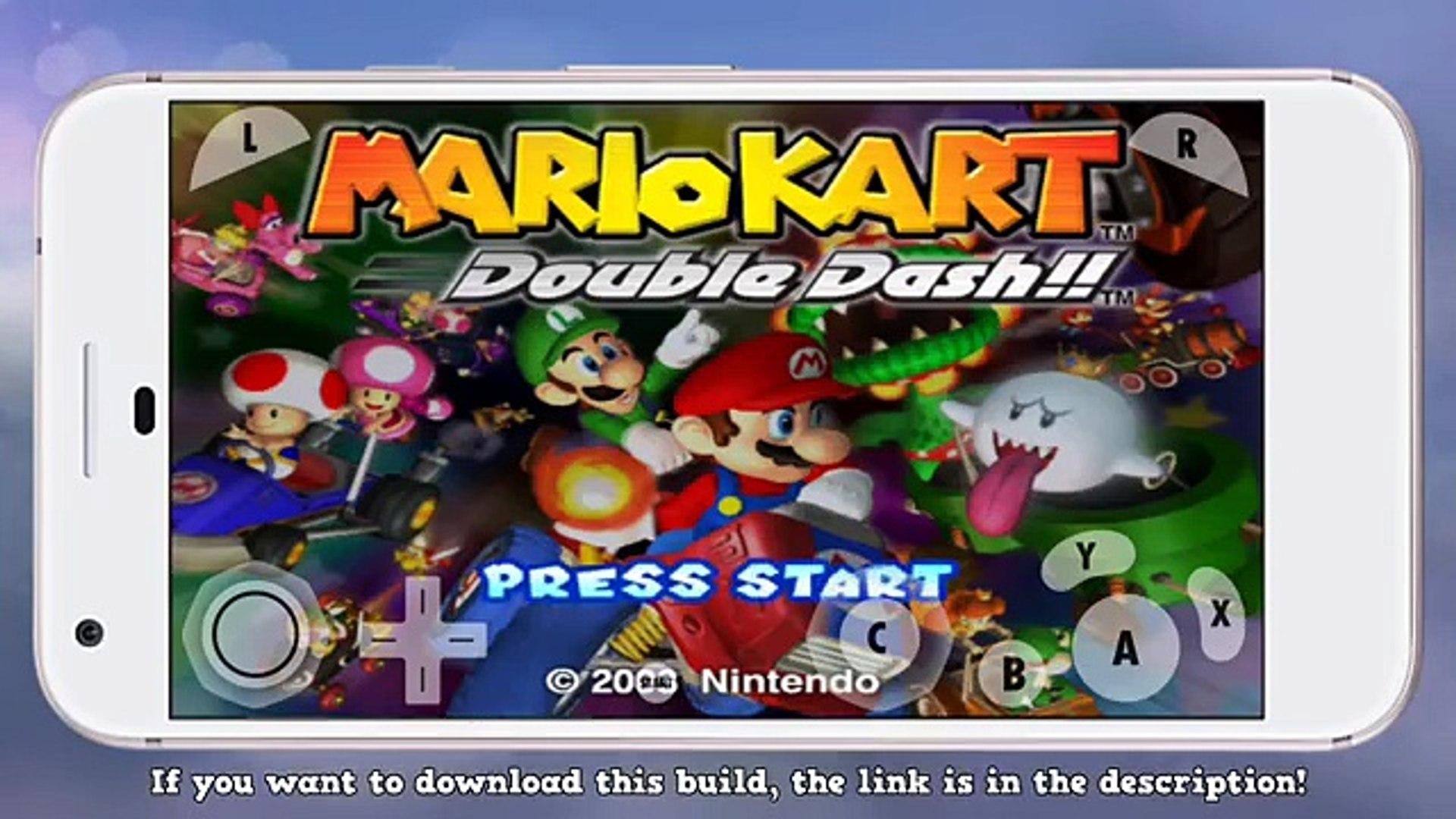 Mario Kart Wii Double Dash On Google Pixel Xl Dolphin Emulator Android Test