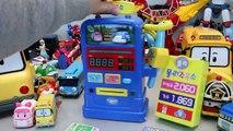로보카폴리 주유소 폴리 뽀로로 꼬마버스 타요 장난감 мультфильмы про машинки Робокар Поли Игрушки Robocar Poli Toy