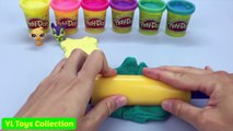 Play Doh Sparkle Airplane Creative Moulds Surprise Littlest Pet Shop