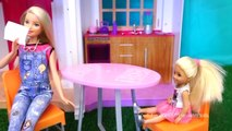 Barbie Toys Hello Dream House Chelseas Friend is Jealous of Smart House - Stories With Toys & Dolls