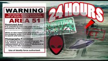 (ALMOST DIED) 24 HOUR OVERNIGHT in AREA 51 GONE WRONG   OVERNIGHT CHALLENGE in AREA 51 (GUARD CHASE)