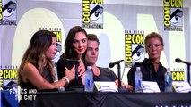 WONDER WOMAN Comic Con Panel - Gal Gadot, Chris Pine, Connie Nielsen, Patty Jenkins