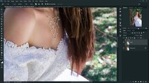 Photoshop CC Tutorial - Change Background Fantasy Photo Effect Editing