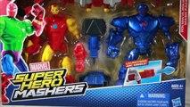Marvel Super Hero Mashers Iron Man Vs. Iron Monger Mash Pack Review