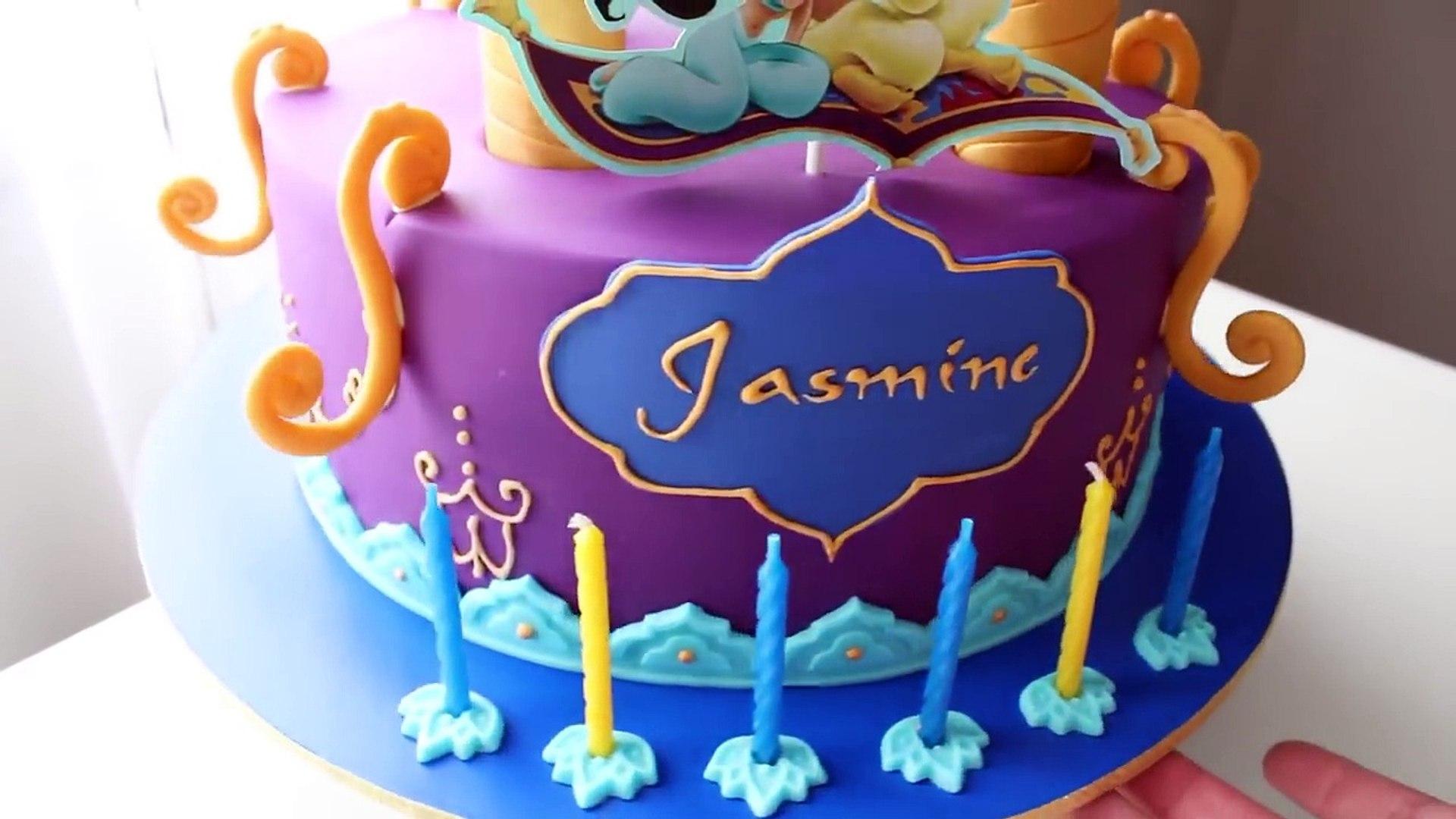 Aladdin And Jasmine Cake Tutorial Video Dailymotion