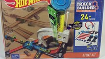 Hot Wheels Stunt Kit Track Builder System - Toy Review Unboxing || Keiths Toy Box