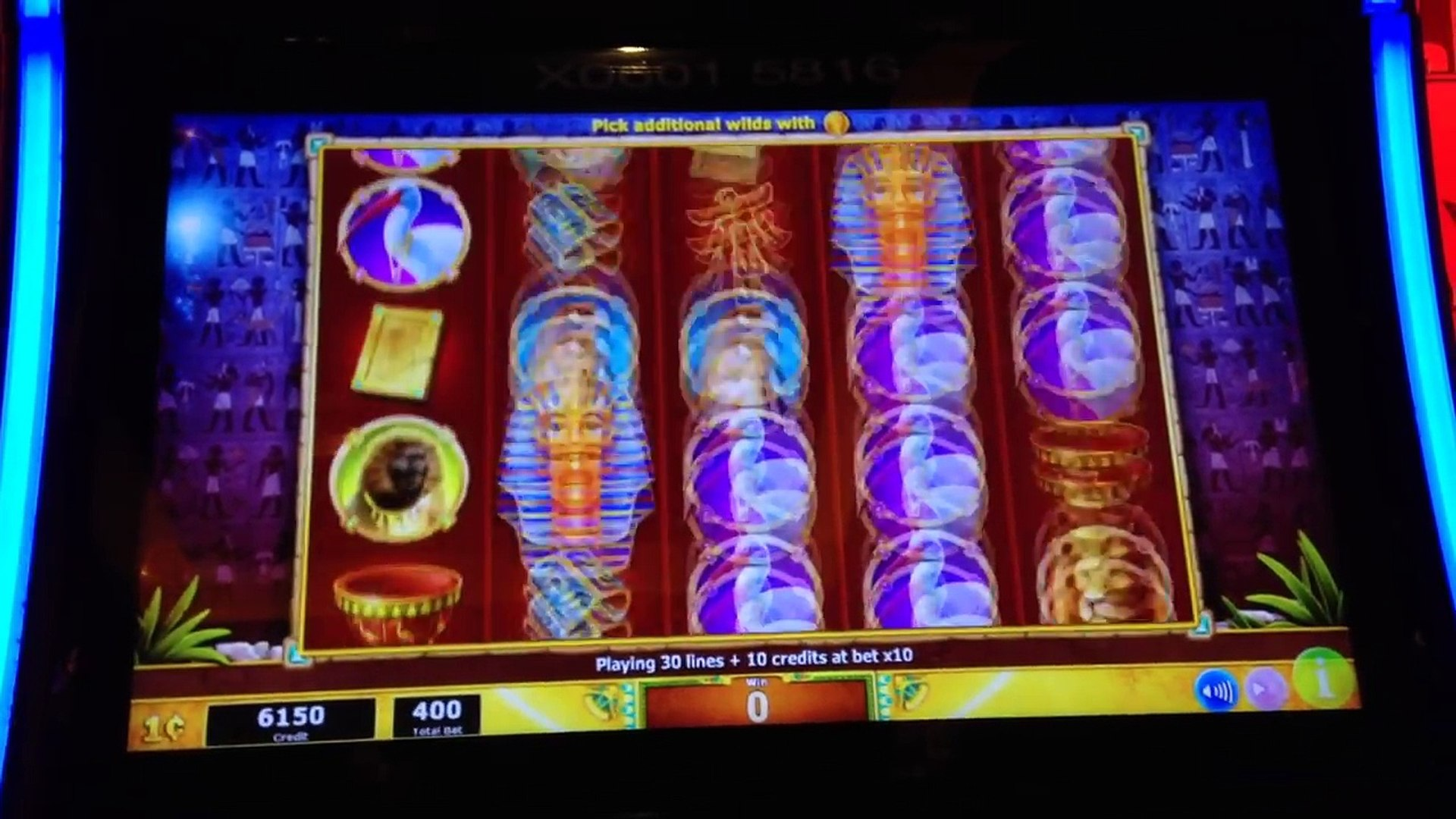 Sphinx slot machine for sale