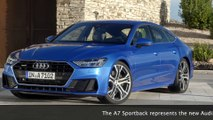 The new Audi A7 Sportback - Sporty face of Audi in the luxury class