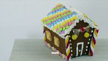 [LPE] Maison En Pain dEpice / Gingerbread House (Tuto Fimo / Polymer Clay Tutorial)
