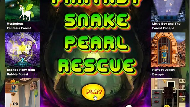 Fantasy Snake Pearl Rescue video walkthrough | Games2rule