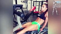 KESSIA MIRELLYS BEST 6 PACK ABS - Strong Workout Body motivation!
