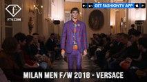 Versace Milan Menswear Fashion Week with Mens Fall/Winter 2018 Collection | FashionTV | FTV
