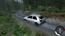 BeamNG Drive - Battle of the Rally Cars - CRASHES - Forest Rally Map Spotlight