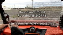 My Turbo RZR Goes Round & Round 11lbs Boost - 240fps Slo Mo Camera Guy Blasted