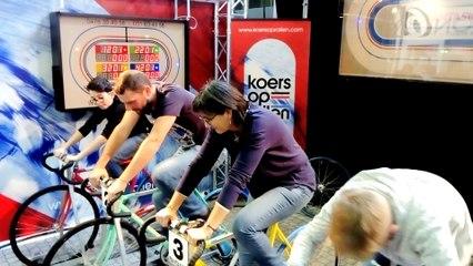 Course cycliste aux Velofollies en Belgique