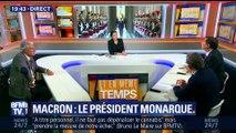Brunet/Neumann: Emmanuel Macron est-il un président monarque ?