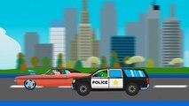 Pepa Fire Truck vs Police Car / Monster Trucks Crashes / Vehicle for Children / Episode 138