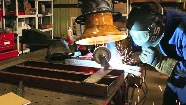 POST APOCALYPTIC WELDING CART BUILD! Scrap Steel, Truck Parts & The Millermatic 211