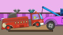 Pepa Pig Tow Truck / Monster Trucks Crashes / Vehicles for Children / Episode 77