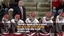 Jim Johannson, General Manager of U.S. Men's Hockey Team, Dies at 53