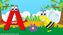 Abecedario para niños - Letras y Palabras para niños - El Tren de las letras - ABC para niños